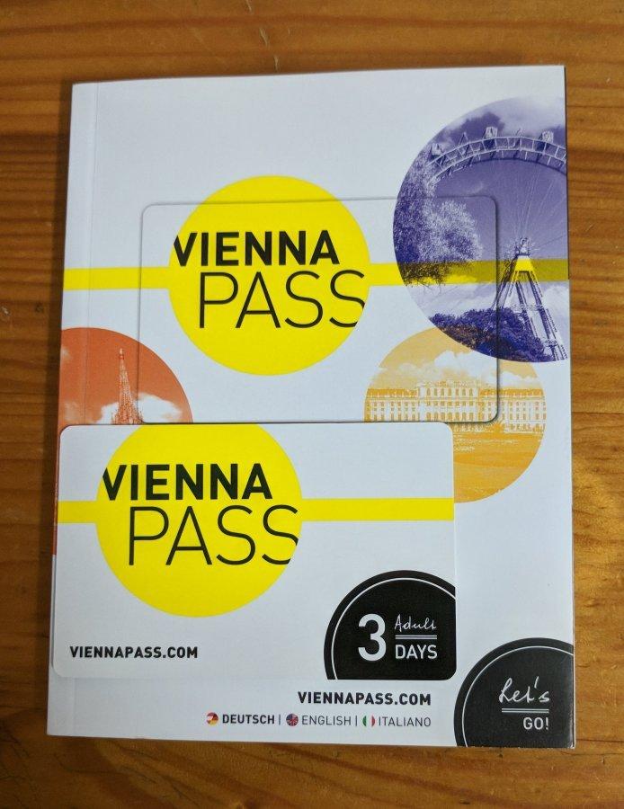 維也納通行證跟附贈的景點介紹與使用手冊