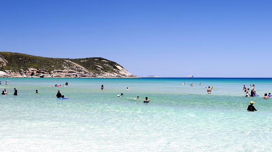 墨爾本 - Wilsons Promontory威爾遜岬 -Squeaky Beach